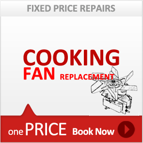 Cooking Fan Motor Replacement Service