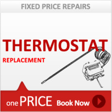 Oven Single Bulb Thermostat Replacement Service
